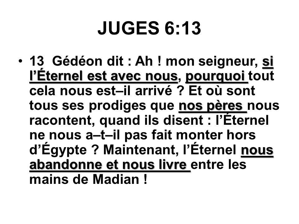 JUGES 6:13