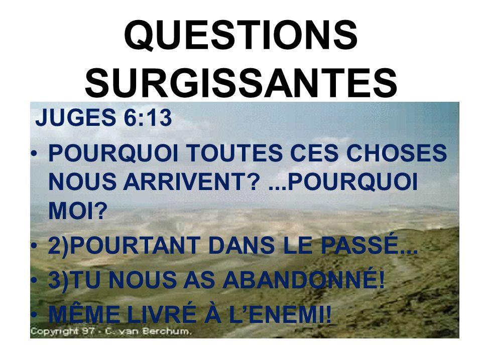 QUESTIONS SURGISSANTES