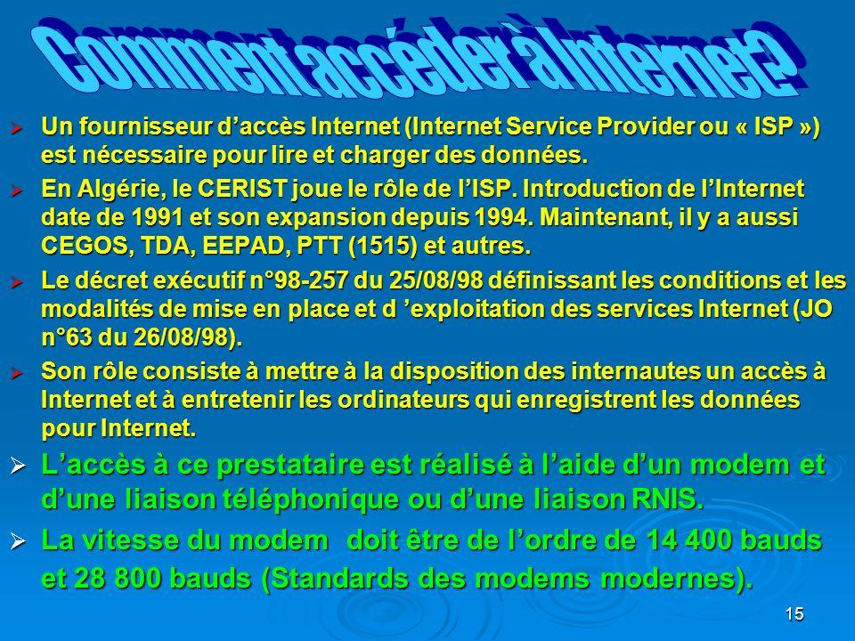 Comment accéder à Internet