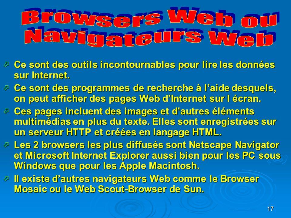 Browsers Web ou Navigateurs Web
