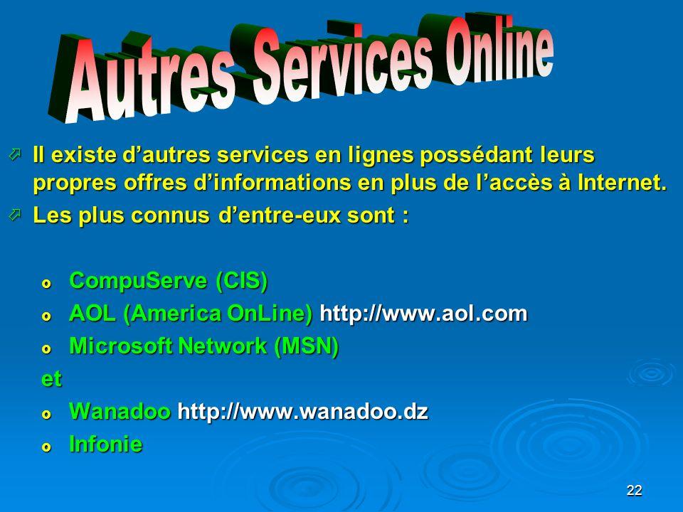 Autres Services Online