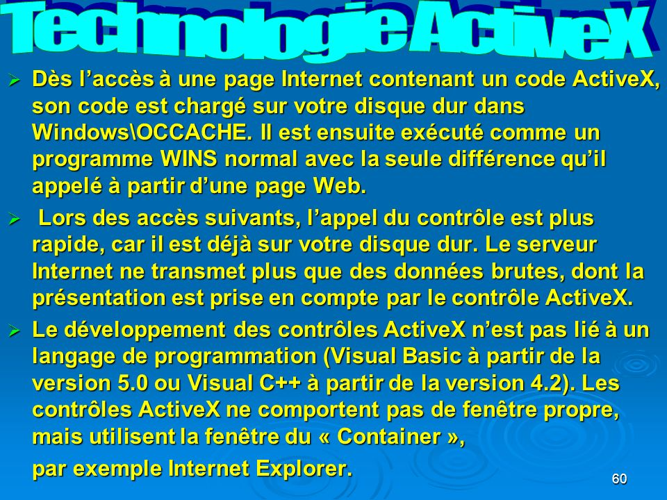 Technologie ActiveX