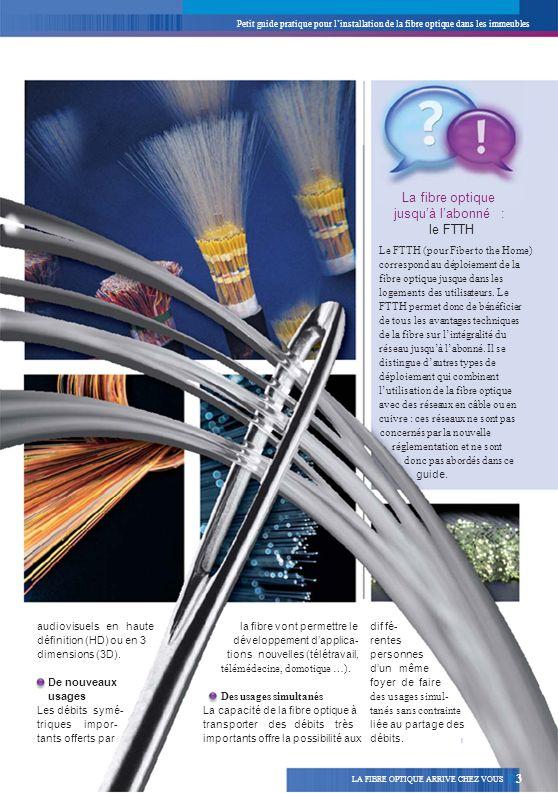 La fibre optique jusqu'à l'abonné : le FTTH R3