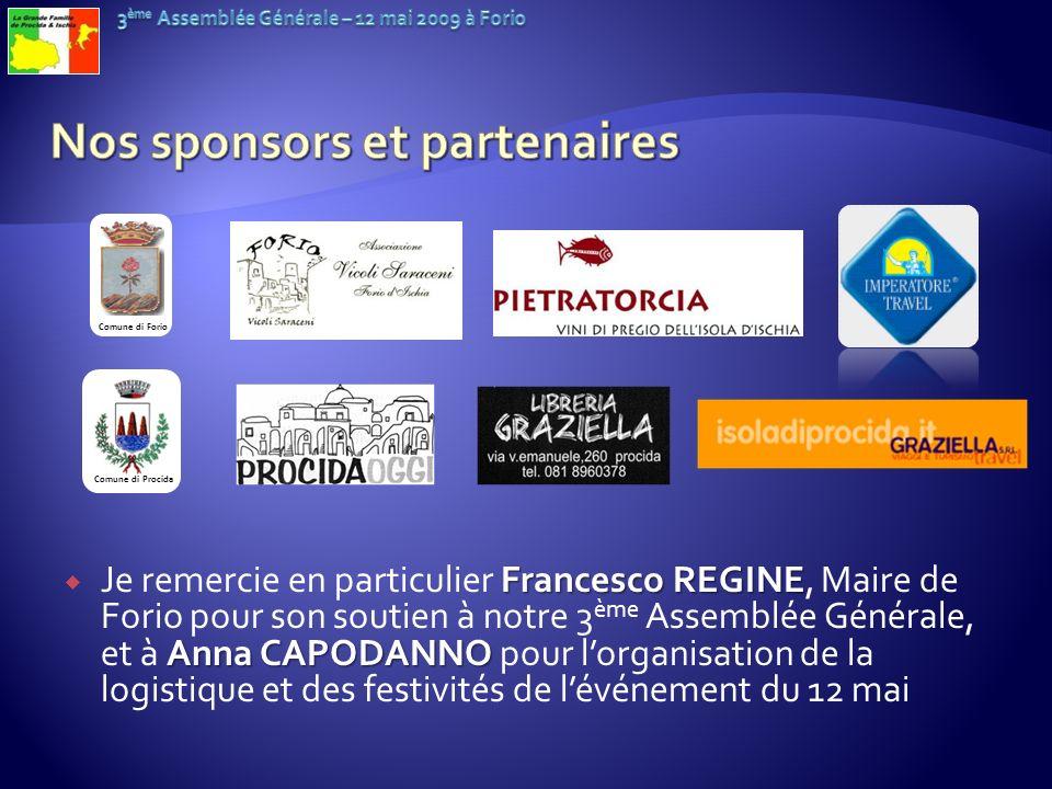 Nos sponsors et partenaires