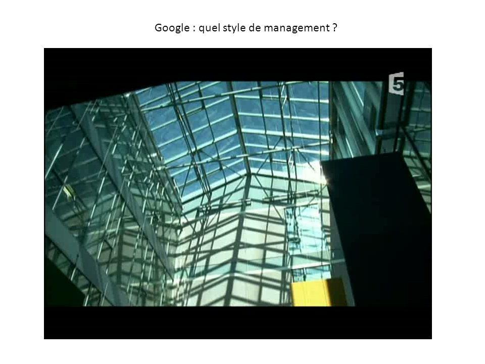 Google : quel style de management