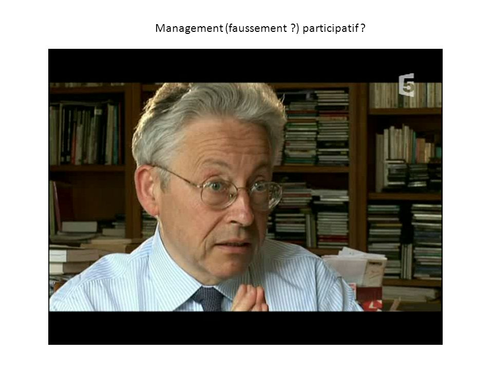 Management (faussement ) participatif