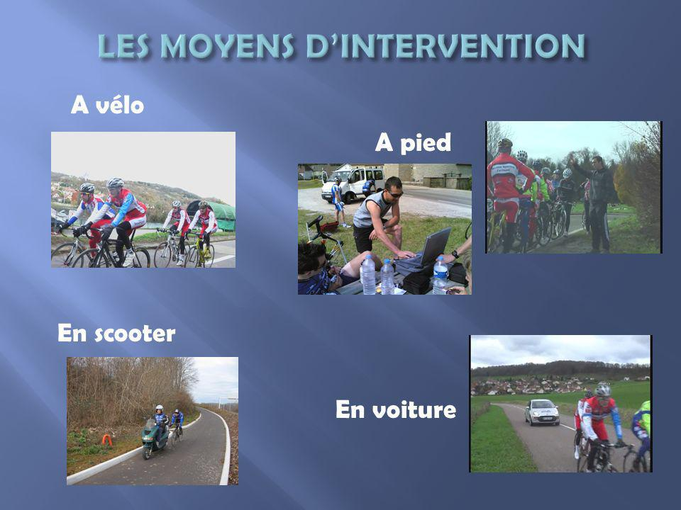 LES MOYENS D'INTERVENTION