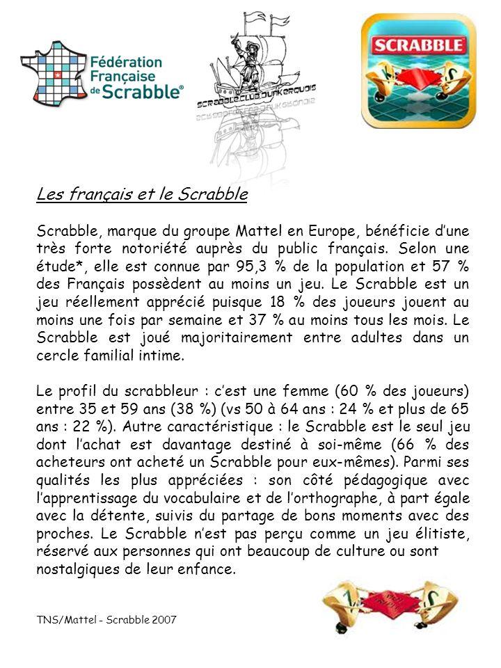 Les français et le Scrabble