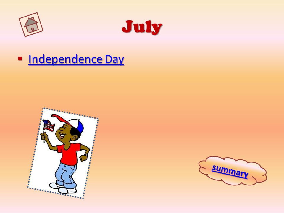 July Independence Day summary