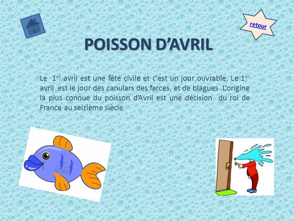 retour POISSON D'AVRIL.