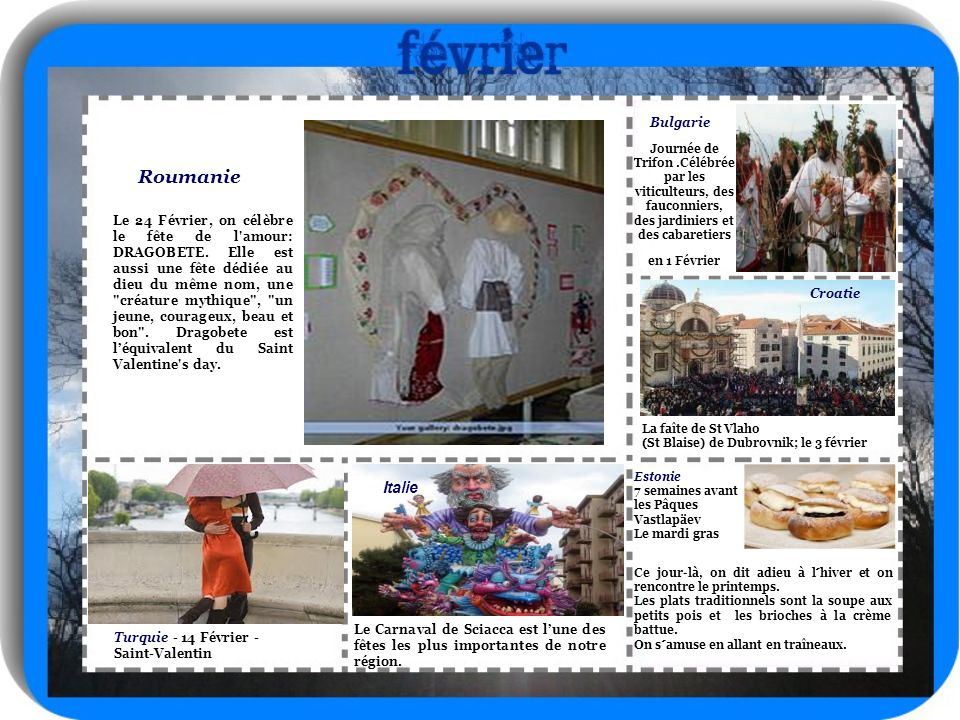 Roumanie Italie Bulgarie