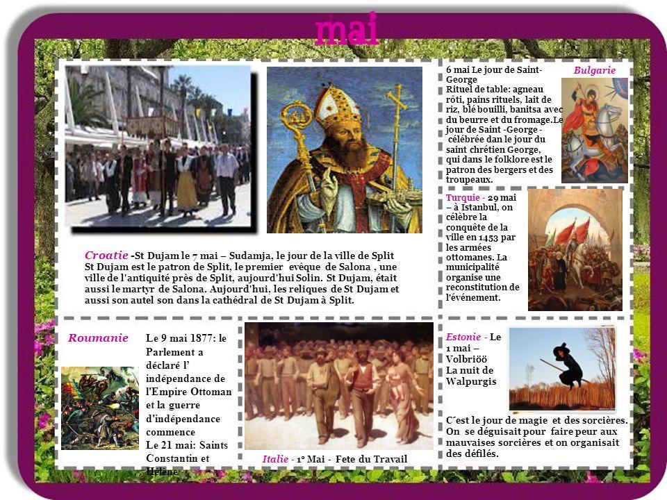 Croatie -St Dujam le 7 mai – Sudamja, le jour de la ville de Split