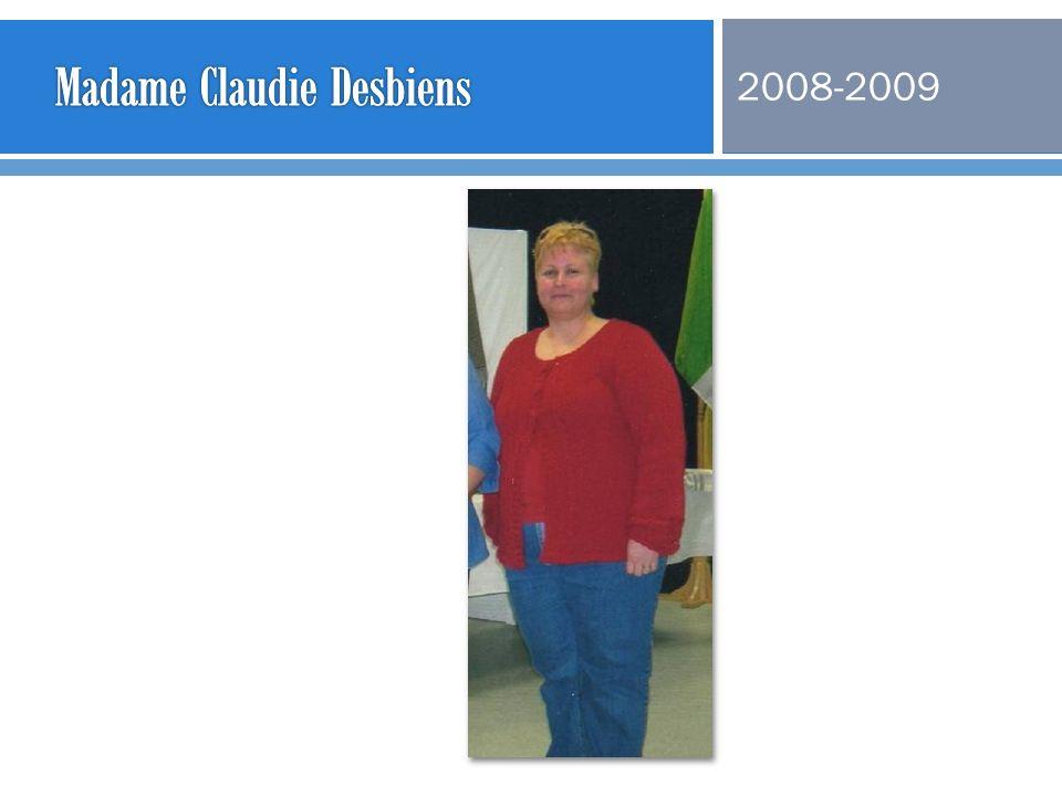 Madame Claudie Desbiens