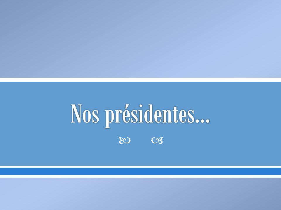 Nos présidentes…
