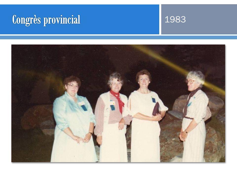 Congrès provincial 1983