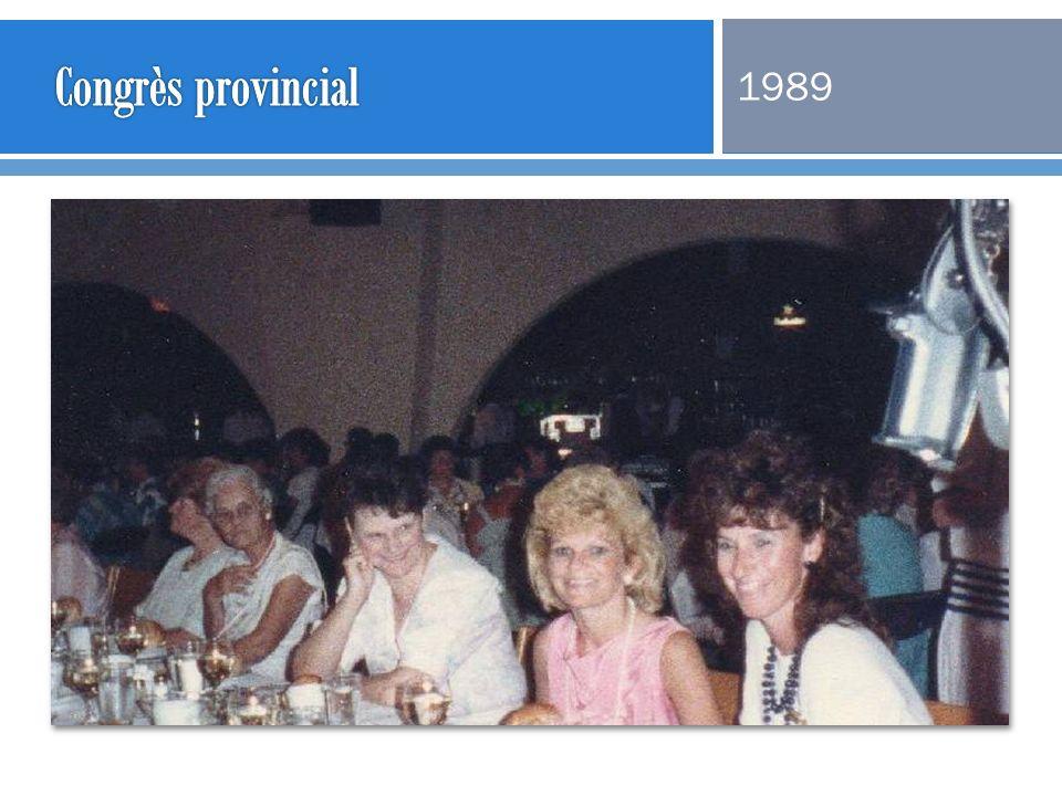 Congrès provincial 1989
