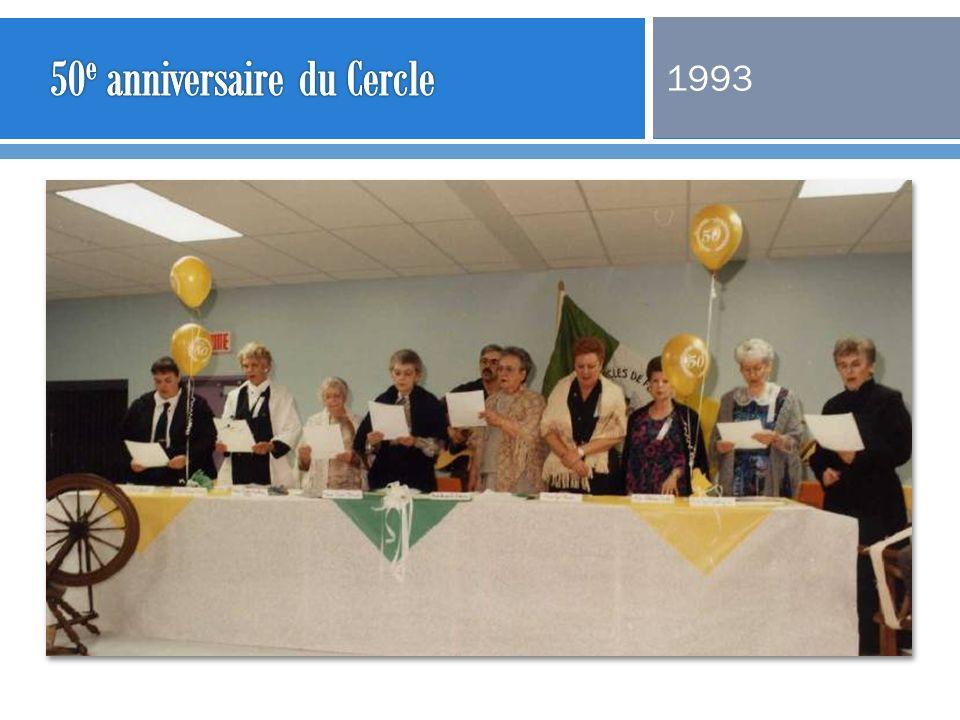 50e anniversaire du Cercle
