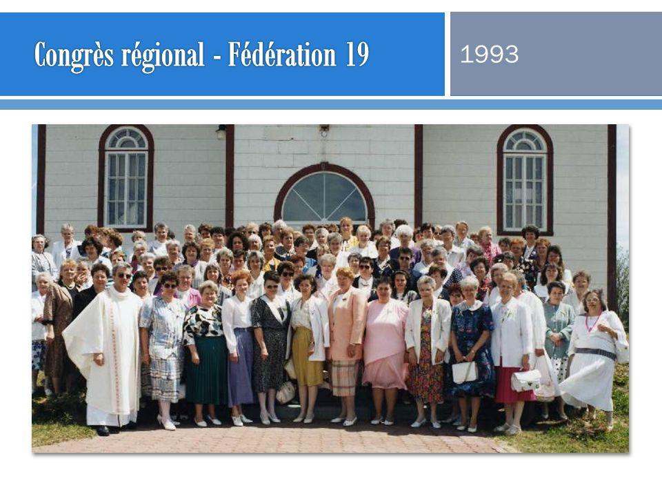 Congrès régional - Fédération 19