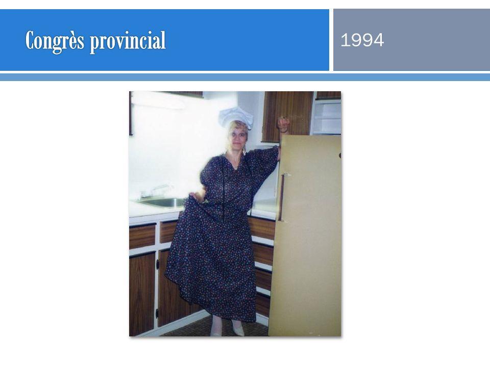 Congrès provincial 1994