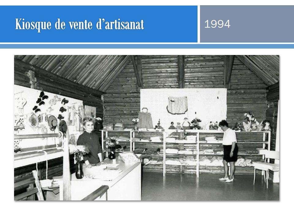 Kiosque de vente d'artisanat