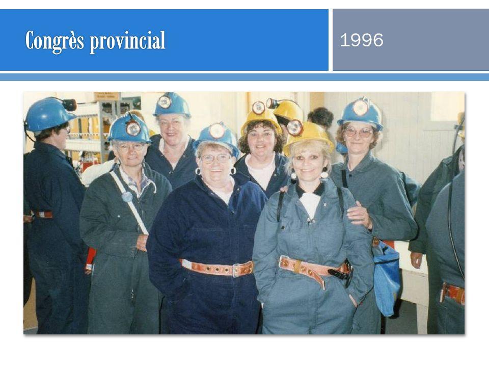 Congrès provincial 1996