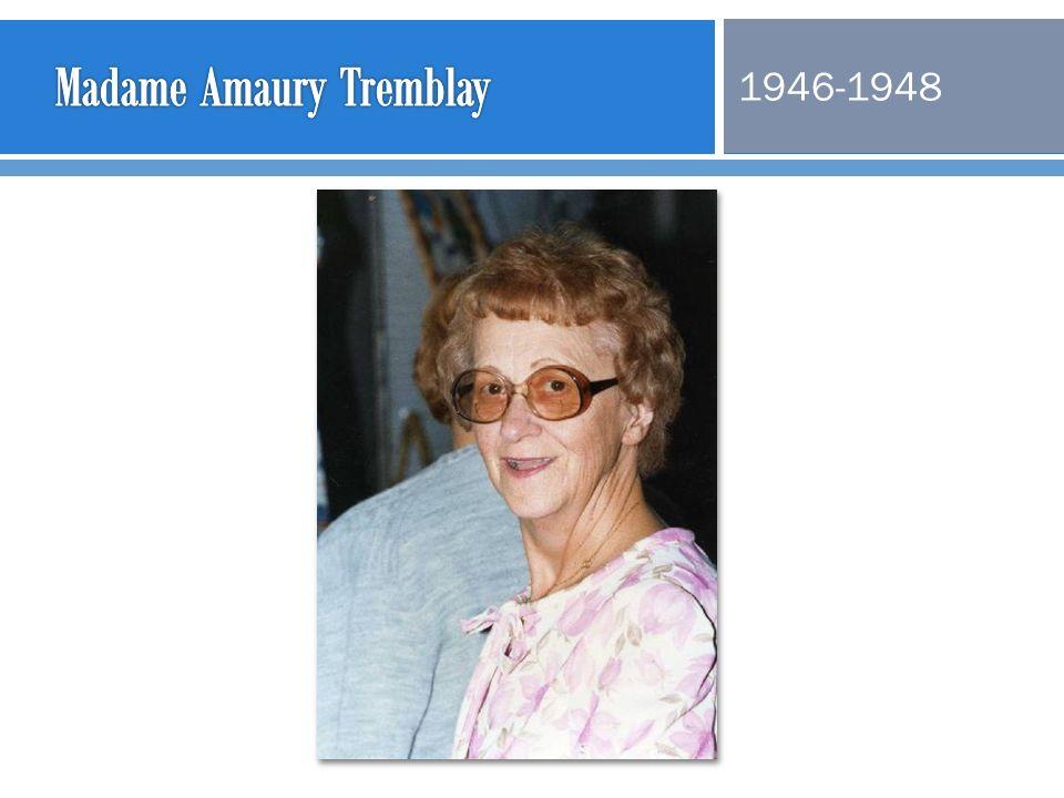 Madame Amaury Tremblay