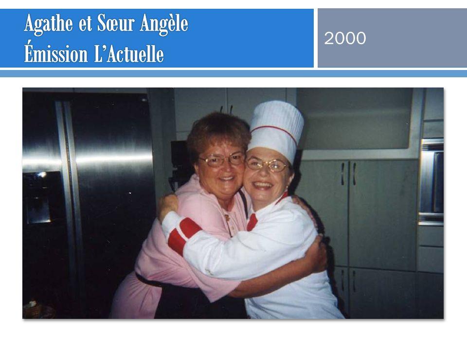 Agathe et Sœur Angèle Émission L'Actuelle