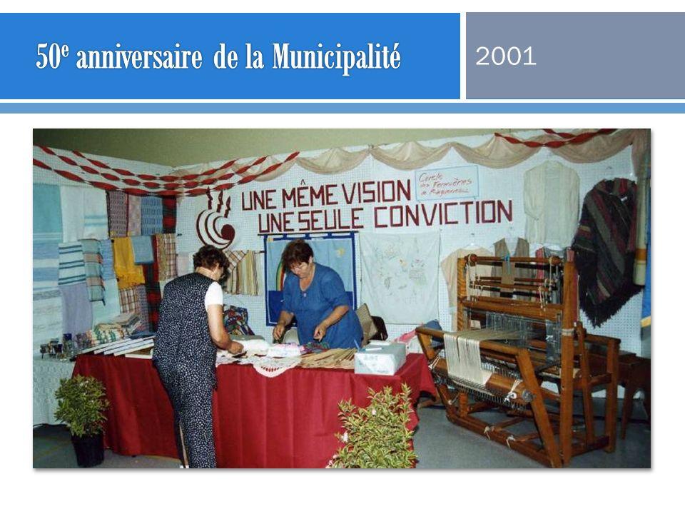 50e anniversaire de la Municipalité