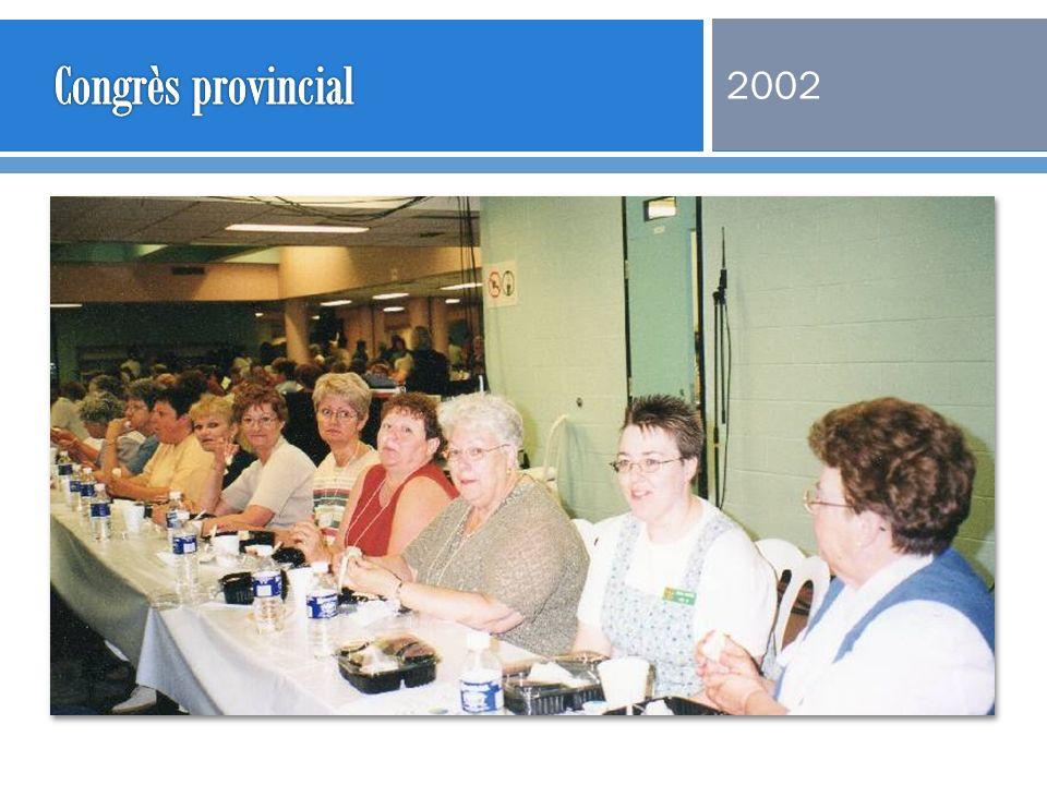 Congrès provincial 2002