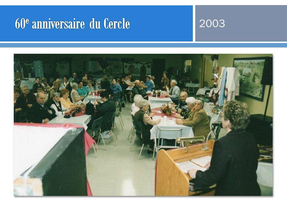 60e anniversaire du Cercle