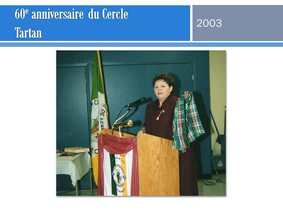 60e anniversaire du Cercle Tartan