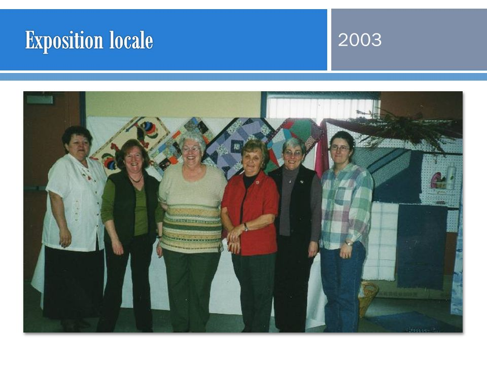 Exposition locale 2003