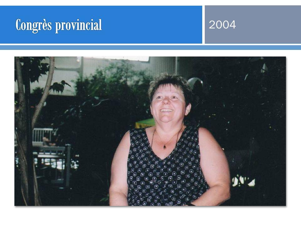 Congrès provincial 2004