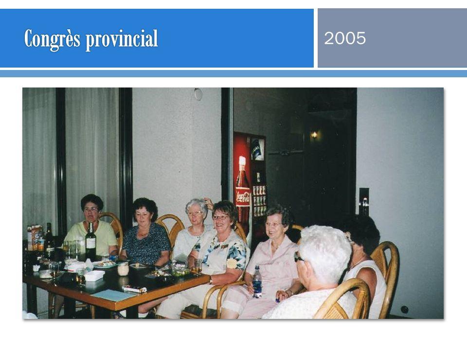 Congrès provincial 2005