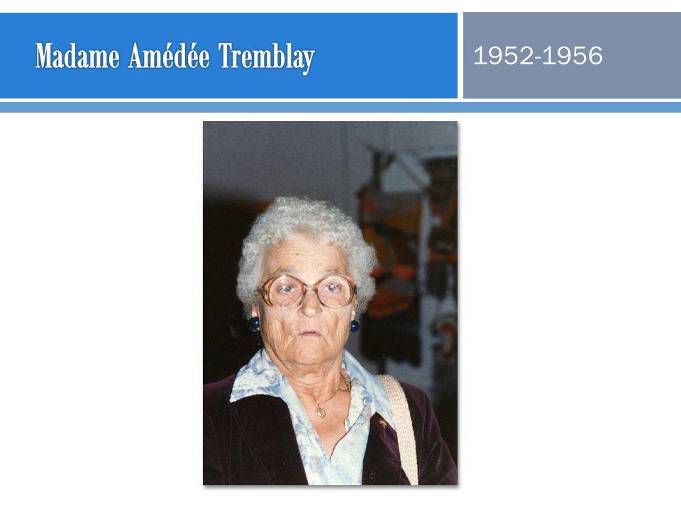 Madame Amédée Tremblay