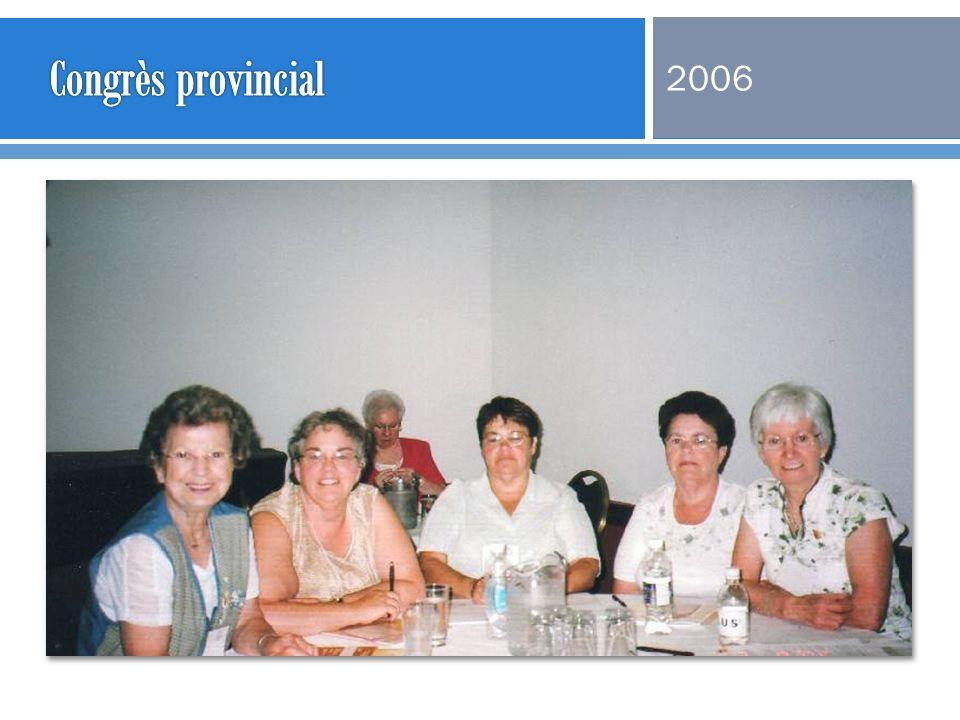 Congrès provincial 2006
