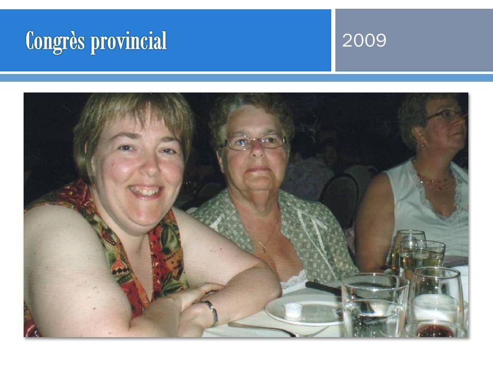 Congrès provincial 2009