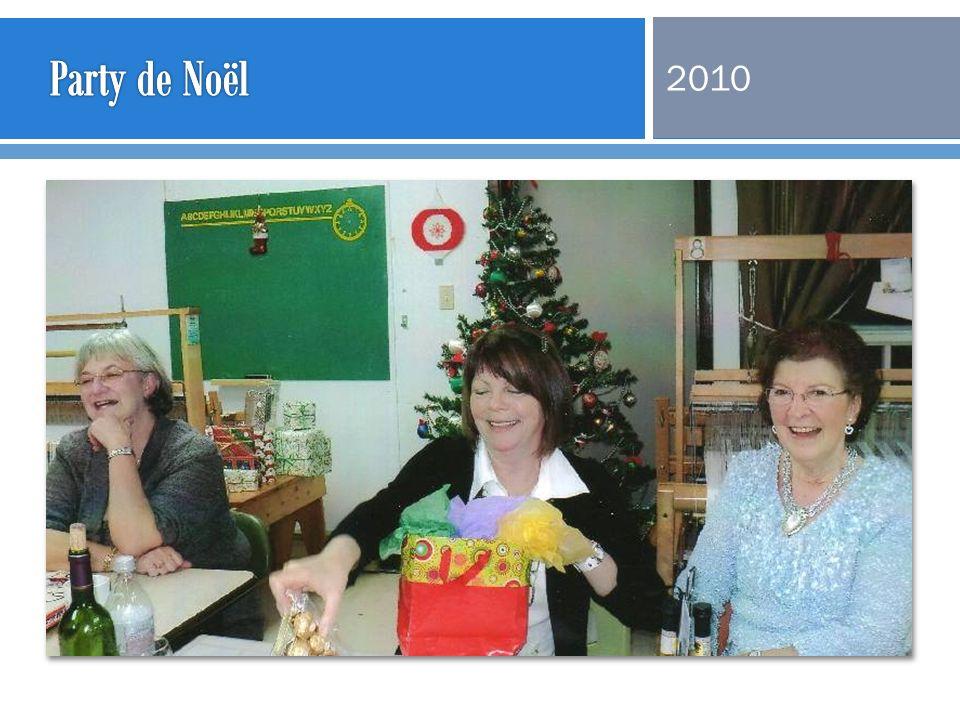 Party de Noël 2010
