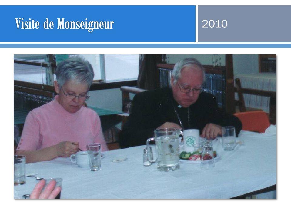 Visite de Monseigneur 2010