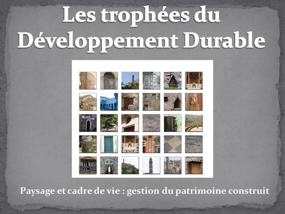 Les trophées du Développement Durable