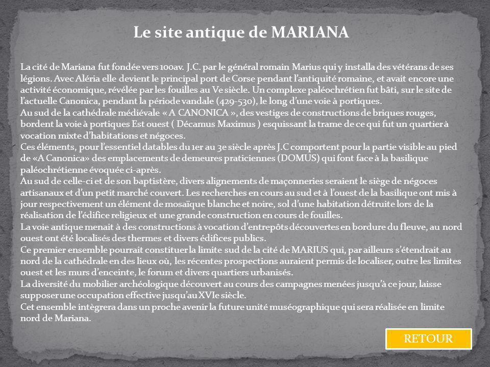 Le site antique de MARIANA