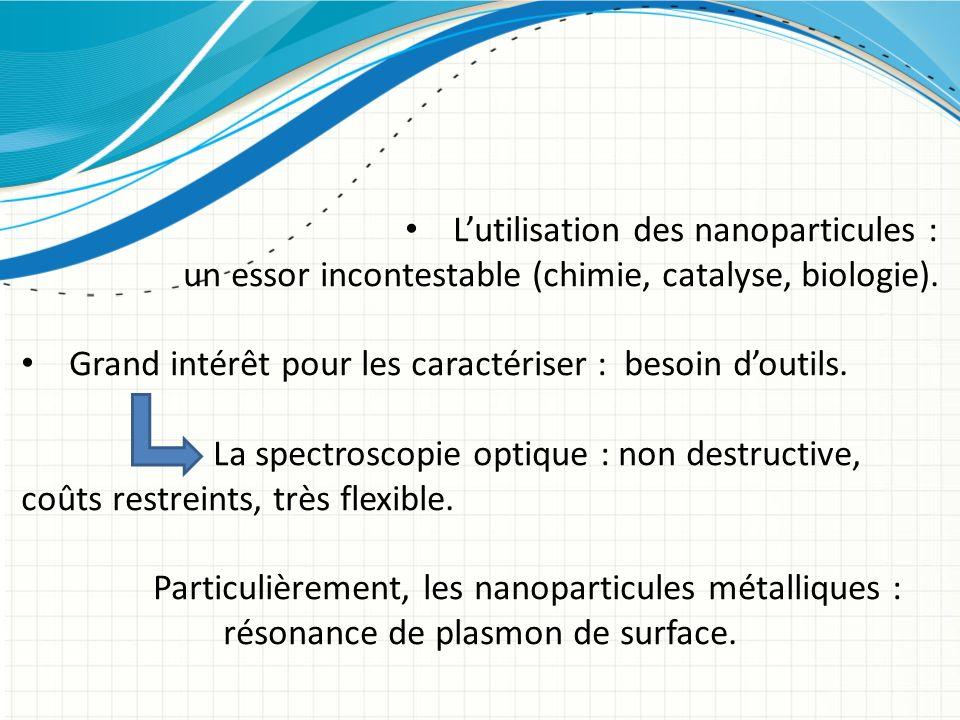 L'utilisation des nanoparticules :