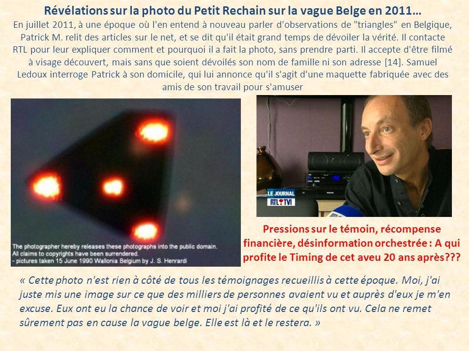 Révélations sur la photo du Petit Rechain sur la vague Belge en 2011…