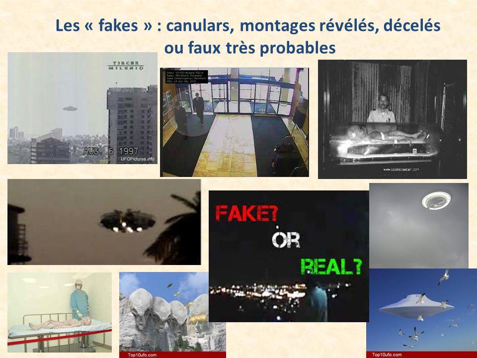 Les « fakes » : canulars, montages révélés, décelés