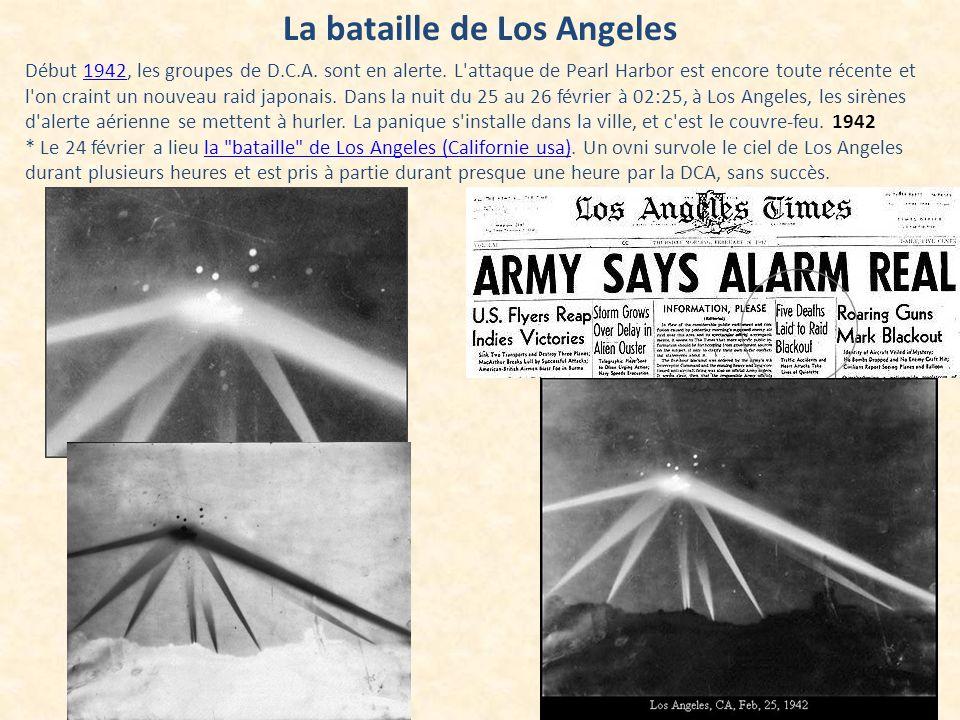 La bataille de Los Angeles