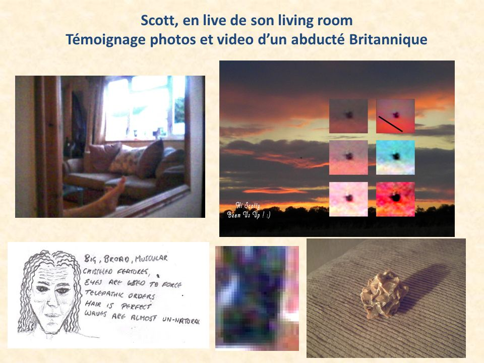 Scott, en live de son living room