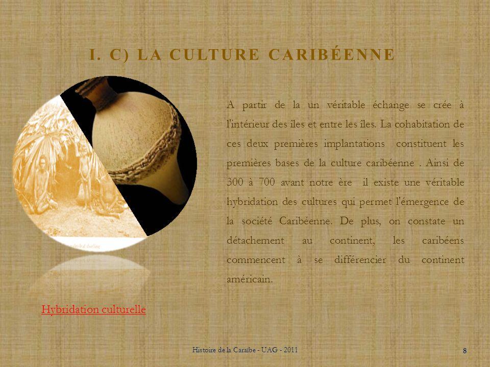 i. C) la culture caribéenne
