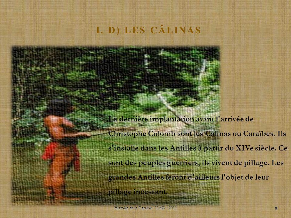 Histoire de la Caraïbe - UAG - 2011