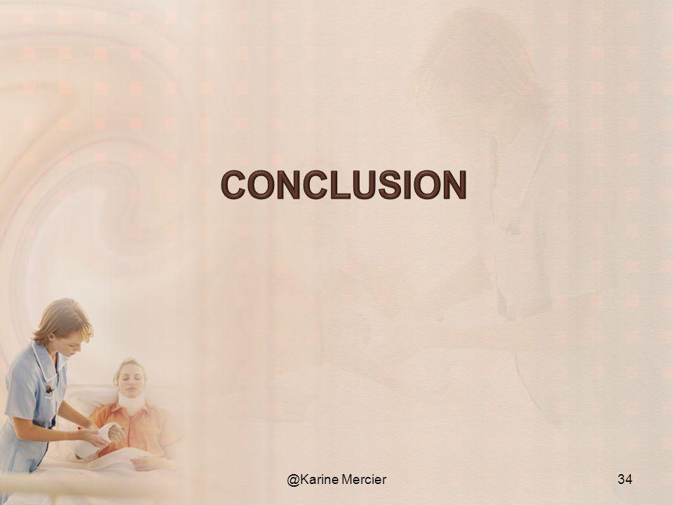 Conclusion @Karine Mercier