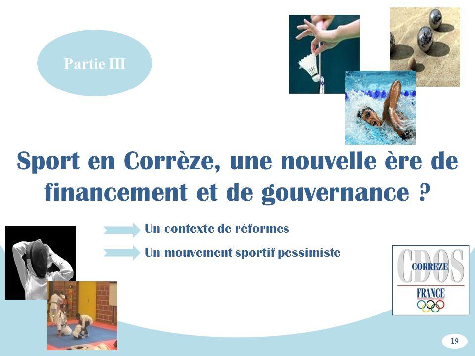 Sport en Corrèze, une nouvelle ère de financement et de gouvernance